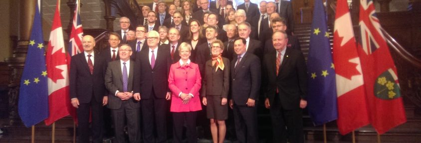 Seen: Wynne, EU ambassadors say cheese - but marketing it, that's another matter