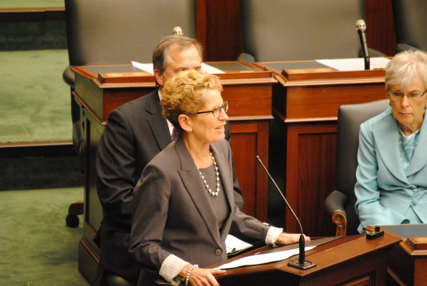 Wynne boasts better question period attendance record than McGuinty