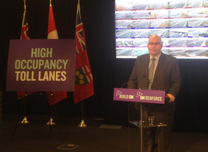Province takes cautious step forward on HOT lanes