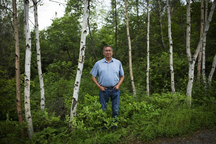 Grassy Narrows chief cautiously welcomes government's 'baby steps' on river cleanup