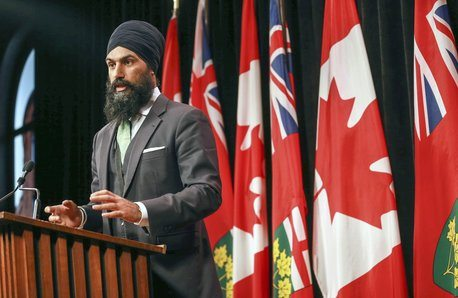 Liberals accuse Jagmeet Singh of using temp workers as 'props' to ramp up leadership bid