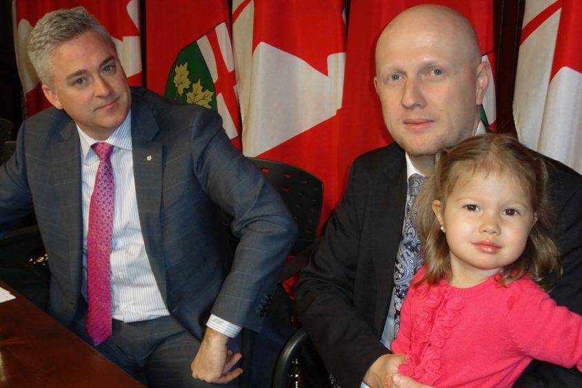 Health minister announces rare disease funding, opposition MPP decries politicization of health care
