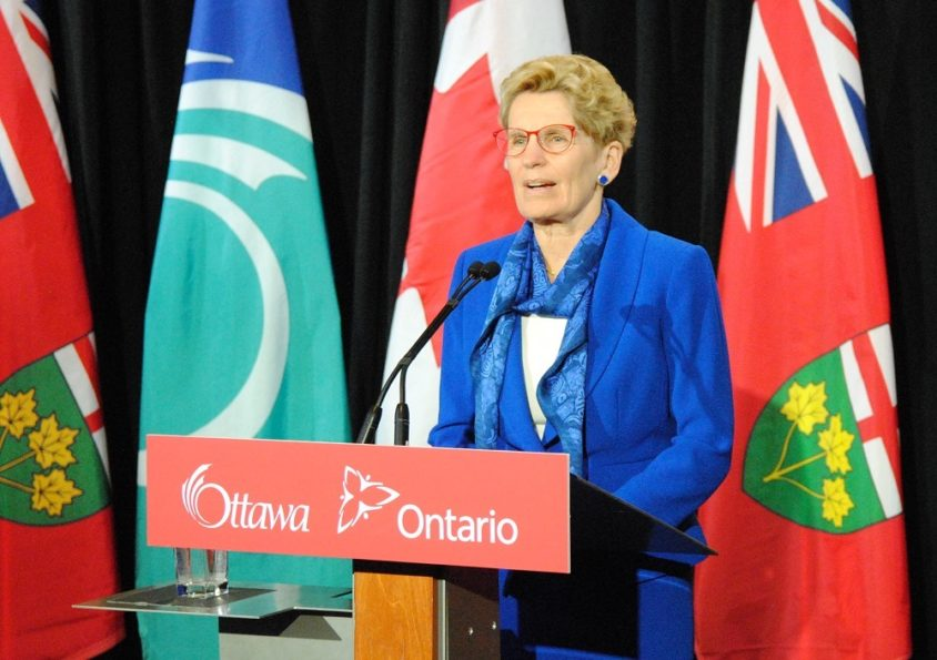 Wynne welcomes Liberals' leadership ambitions, says they make for better MPPs, cabinet ministers
