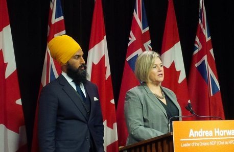 Heard: Horwath wants Singh's decision to run federally 'sooner rather than later'