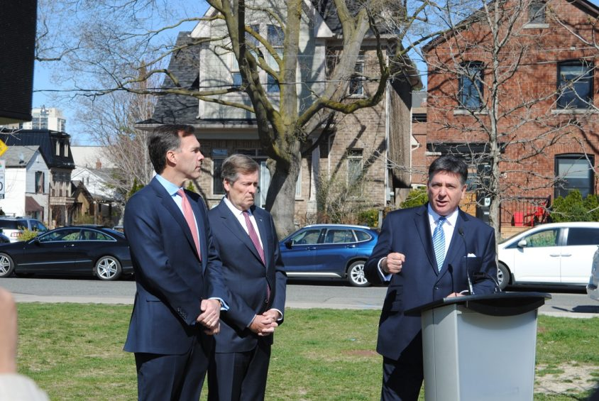 Sousa, Morneau, Tory discuss 'shared concern' over Toronto's hot housing market