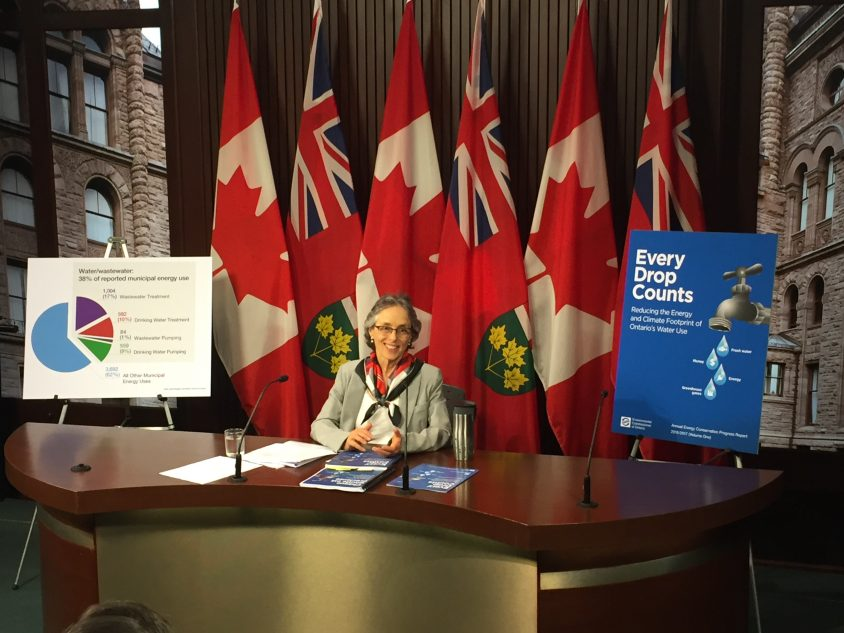 """Environmental commissioner calls for renewable energy centres and """"grey water"""" use"""