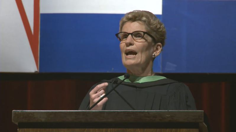 "Wynne acknowledges ""malaise"" among those not feeling Ontario's prosperity"