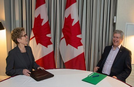 Stephen Harper's consulting firm aims to lobby Kathleen Wynne's office