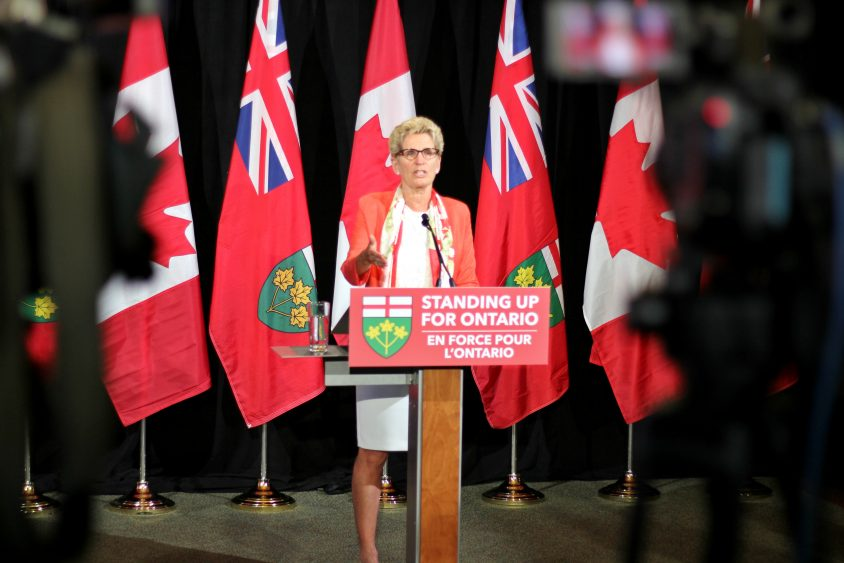 Premier Wynne off to Providence to battle U.S. protectionism