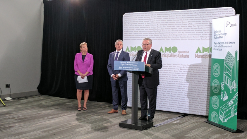 AMO 2017: New environment minister announces $100M GHG challenge fund for municipalities
