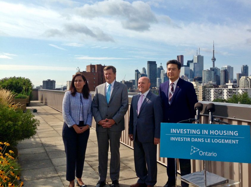 Province pledges $657 million for green upgrades to social housing, half to Toronto