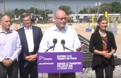 Infrastructure funding talks with feds ongoing, updates expected soon, Ont. minister says