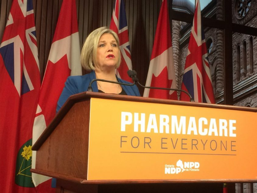 "Horwath says health minister needs to ""man up"" on hospital overcrowding"
