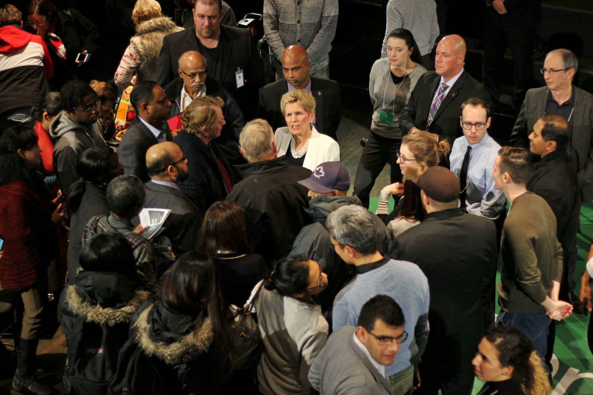 Kathleen Wynne faces tough questions at town hall chat