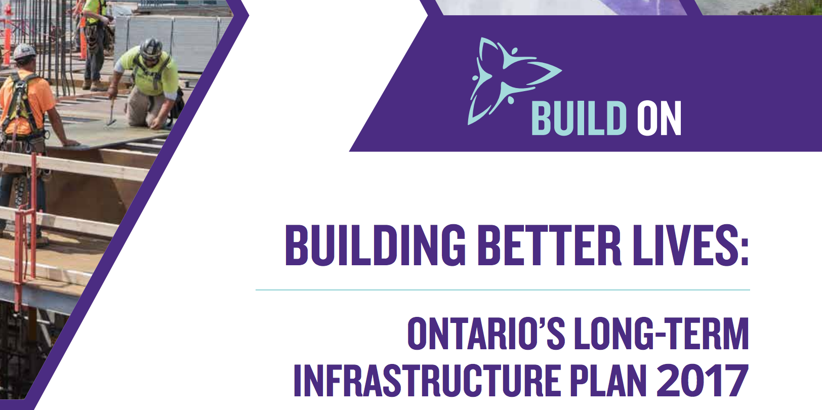Five things to know about Ontario's Long-Term Infrastructure Plan