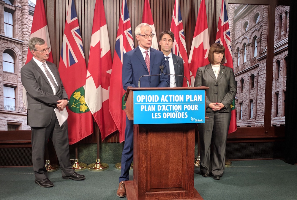 Opioid deaths spike in Ontario, latest figures show, as province gains power to approve and fund supervised injection sites