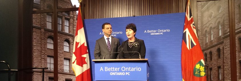 Wynne blasts Hudak for 'ransom' language; PC leader says no to corporate handouts