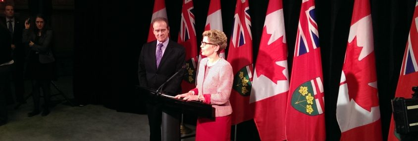 Wynne and Kelly meet: Ice storm relief coming this week, Build Toronto asking for changes