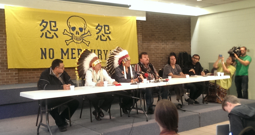 Grassy Narrows accuses government of sitting on mercury report