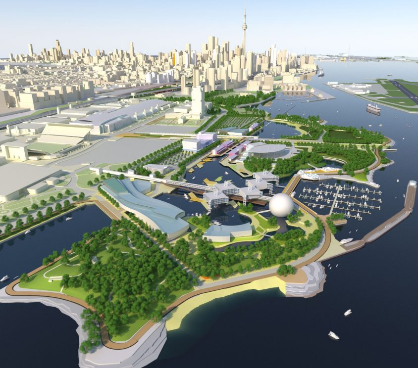 Government unveils further elements of Ontario Place revitalization