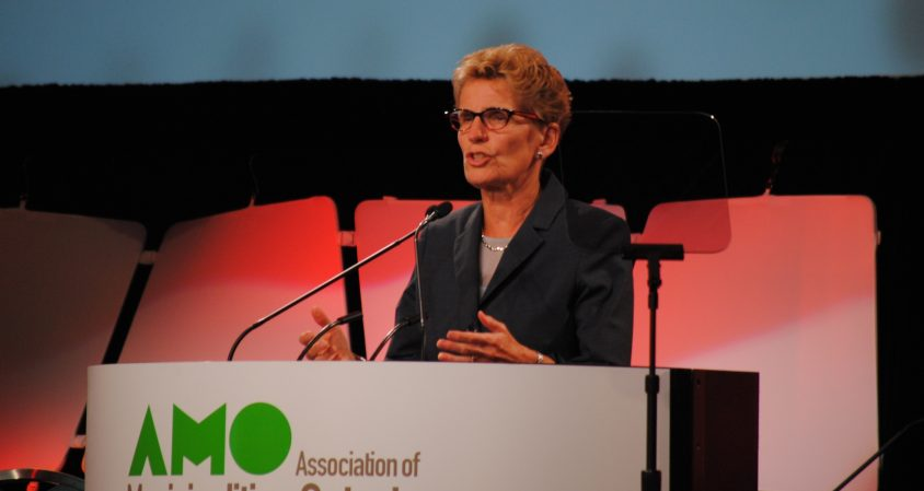 Wynne tells AMO Queen's Park will be a partner, admits 'strains'