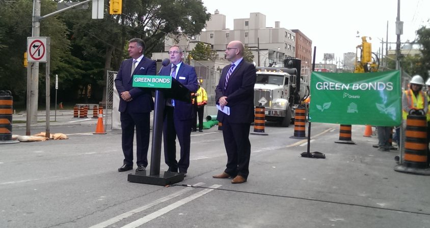 Eglinton Crosstown to be first project funded by green bonds