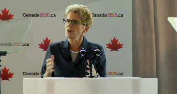 Wynne spins enemies, provincial and federal, as narrow ideologues