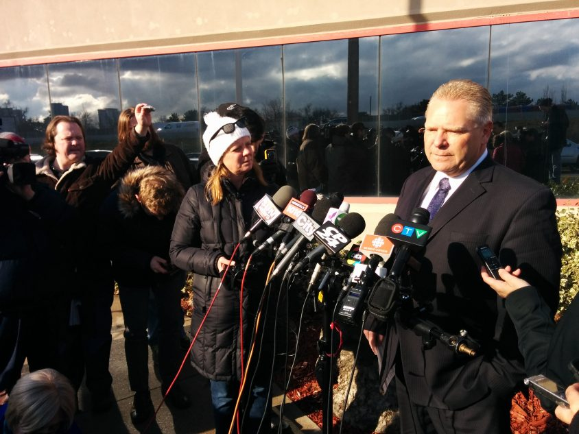 ICYMI: Doug Ford says he's working hard for the Ontario PCs