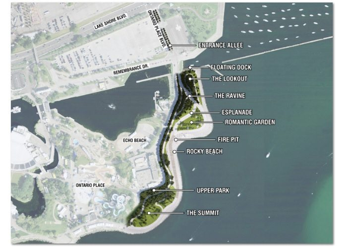 Heard: Construction begins on Ontario Place waterfront park and trail