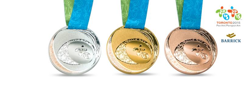 Seen: Royal Canadian Mint reveals Pan/Parapan Am Games medals
