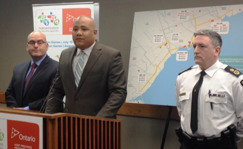 Pan Am Games transportation plan dependent on traffic reduction by a fifth