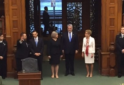 In speech to legislature, Couillard touts Ontario-Quebec alliance as 'a force to be reckoned with'