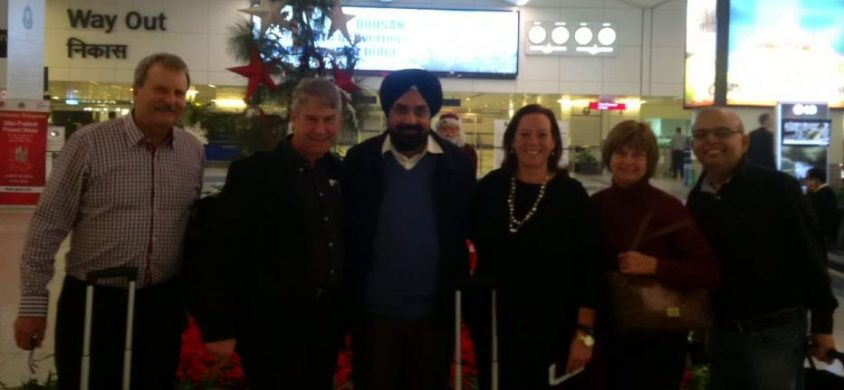 Five PC MPPs tour India with business group