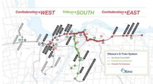 Ontario doles out $1 billion to expand Ottawa's LRT east, south and west