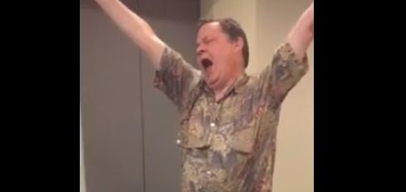 Coming autism announcement has critic literally dancing with joy