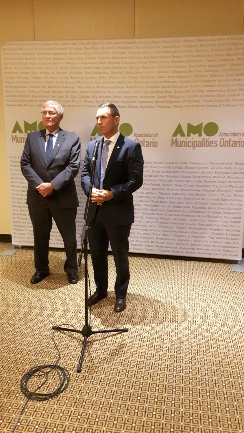 AMO 2016: Brown 'not looking at new taxes' for municipalities
