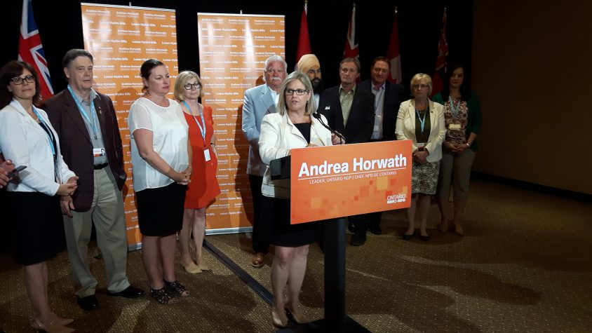 AMO 2016: Horwath hits hydro hard, calls for HST removal on bills