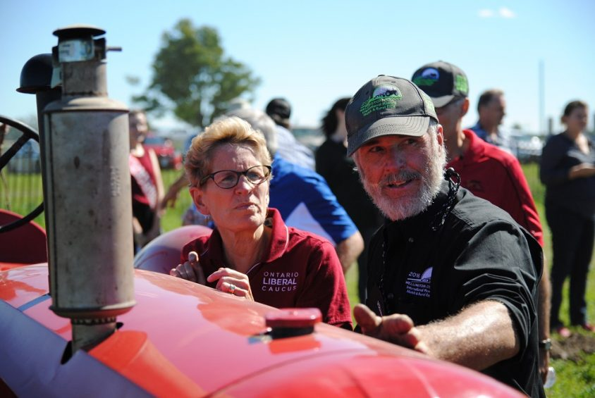 IPM 2016: Premier faces tough crowd, shrugs off polls, at plowing match