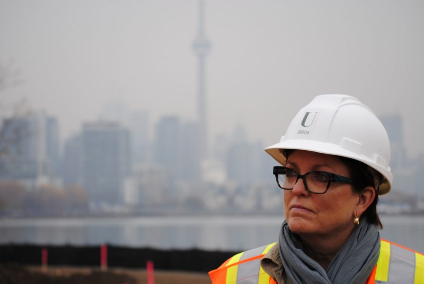 On Ontario Place revival tour, Minister envisions Central Park North