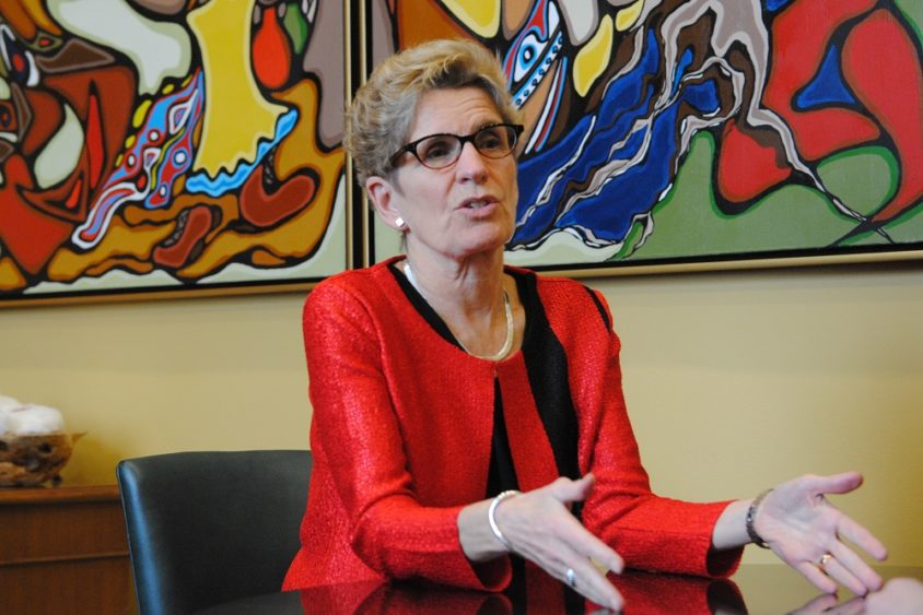 Wynne 'should do some soul-searching' on future at Liberal helm, pollster says