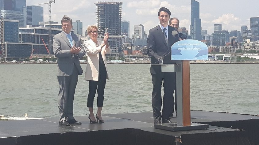 Province pitching in $417 million for Port Lands patch-up