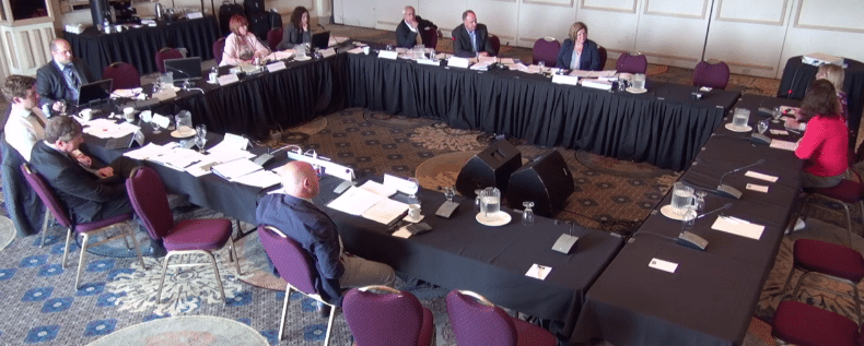 Domestic violence and unionization take centre stage at labour law hearings
