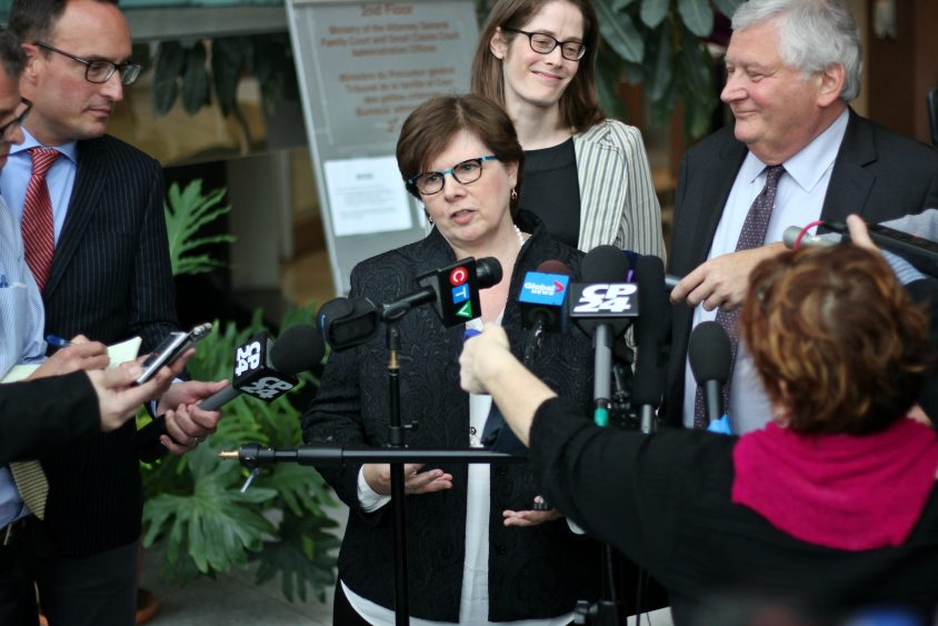 Patricia Sorbara off Liberal campaign team, premier says