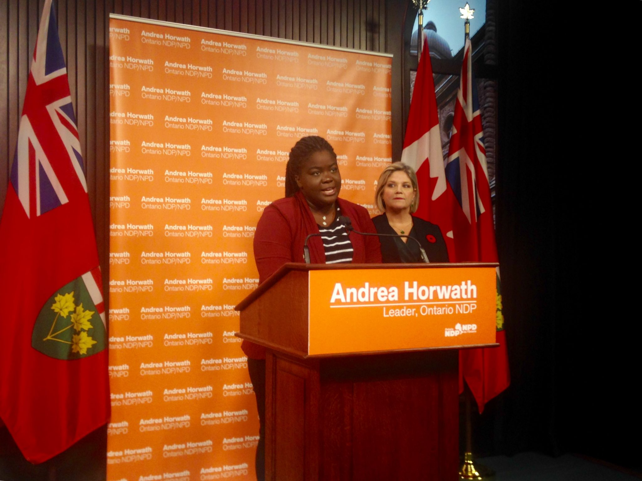 Horwath presses for more paid leave, vacation and protections for workers