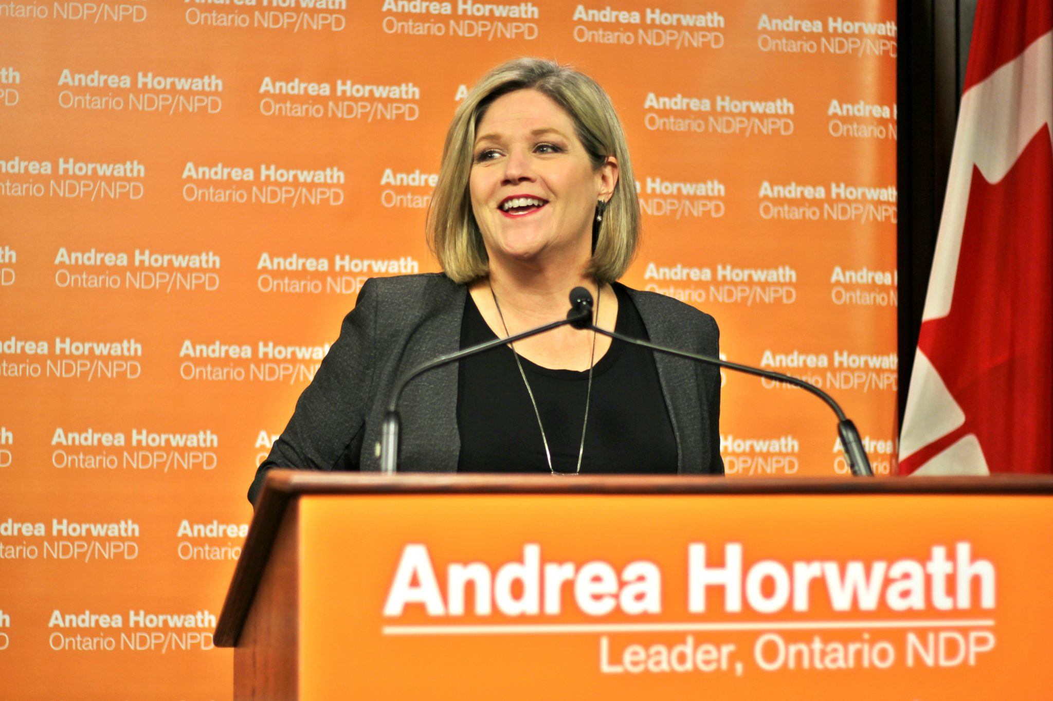 'People see us as the third party': Horwath undaunted by NDP's place in Ontario psyche