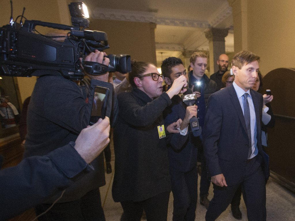Hiring private investigators is Patrick Brown's due process, his communications adviser says