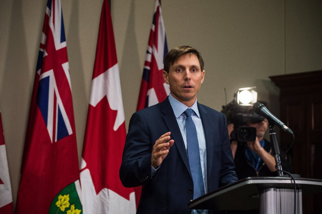 Patrick Brown not ruling out political comeback, compliments Ford's handling of trade dispute