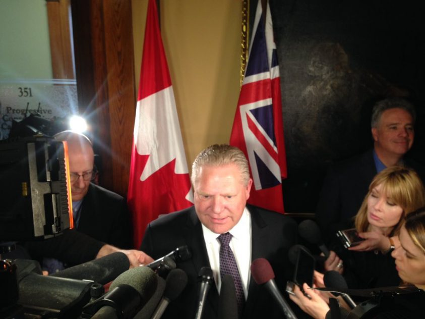 Ford takes on cap and trade for his first action as premier, but details remain scant
