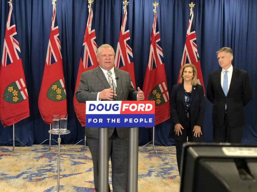Ford pledges to build subways in T.O., although funding route remains hazy