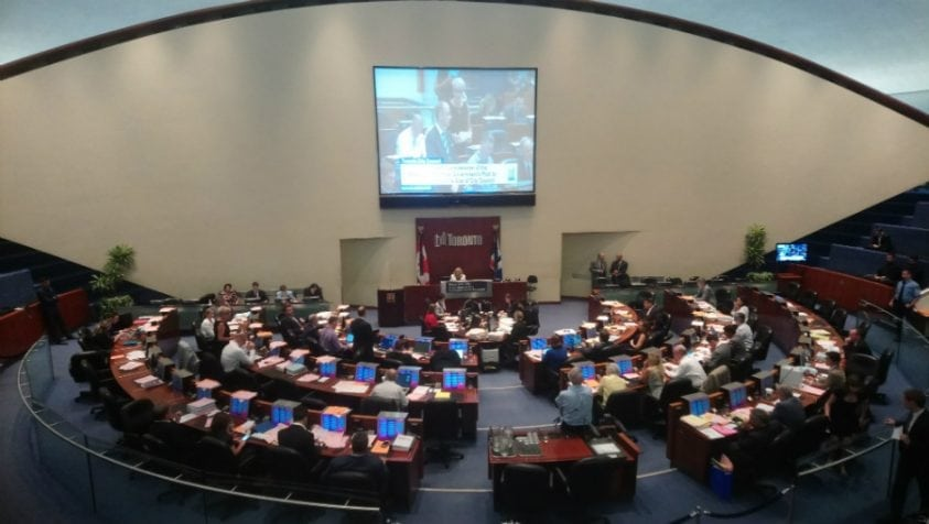 Toronto City Hall tries to push back against ward reductions